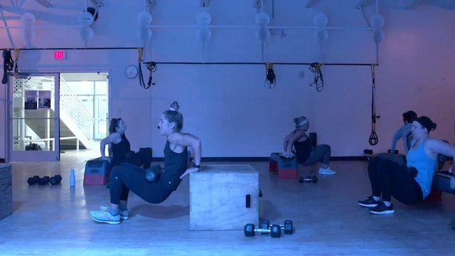 8/10 HIIT Strength 30 with Kristen E.