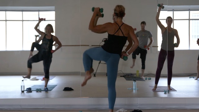 Yoga Sculpt with Carrie - Recorded LIVE on 9/23/2020