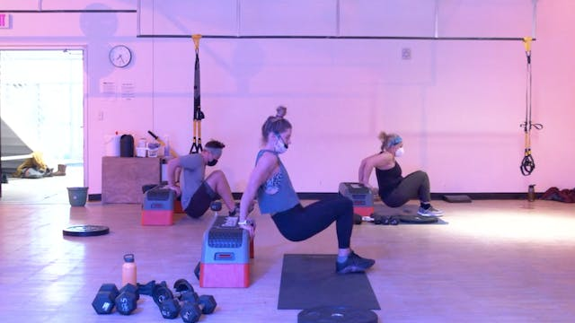 2/9 HIIT Strength with Kristin E