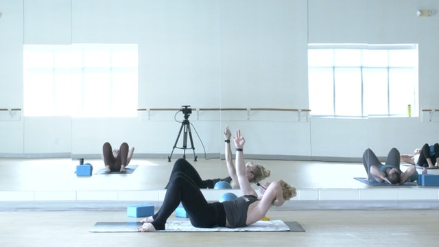 7/27 Pilates/Barre with Maddy