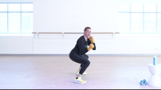 Cardio Kickboxing with Kiki - Recorded LIVE 11/30/2020