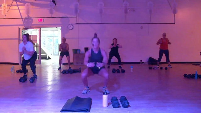 9/21 HIIT Strength with Kristen
