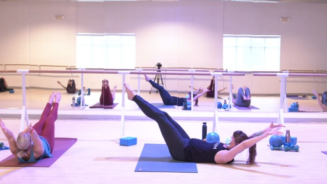 3/16 Pilates/Barre with Elinor