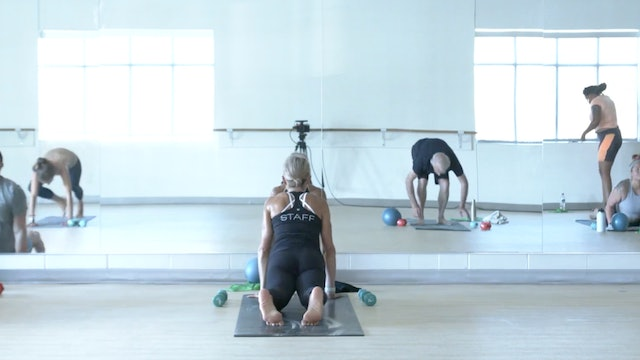 Sun 10/17 10:30 AM CST   Barre 45 with Carrie