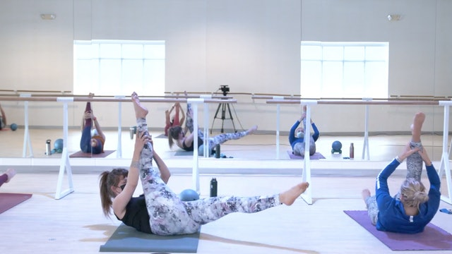 3/9 Pilates/Barre with Elinor