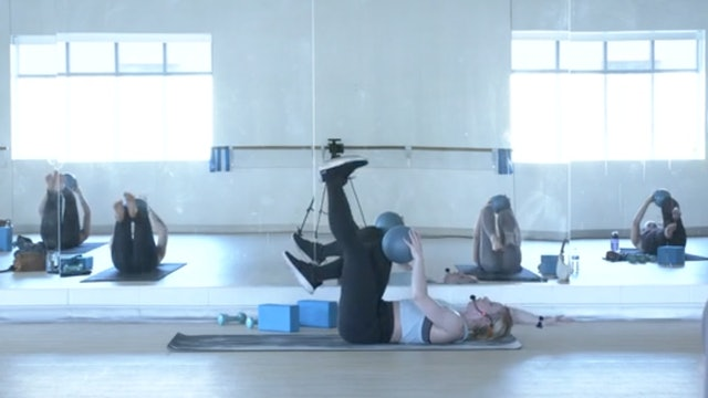 6/25 Barre Pilates with Maddy