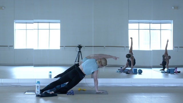 7/16 Pilates/Barre with Maddy
