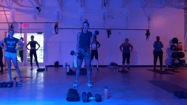 8/3 HIIT Strength with Kristen E.