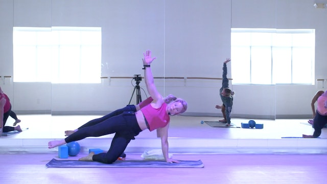 7/20 Pilates/Barre with Maddy