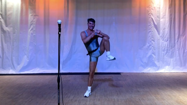 Vintage Aerobics with Doug - Recorded LIVE on 8/2/2020