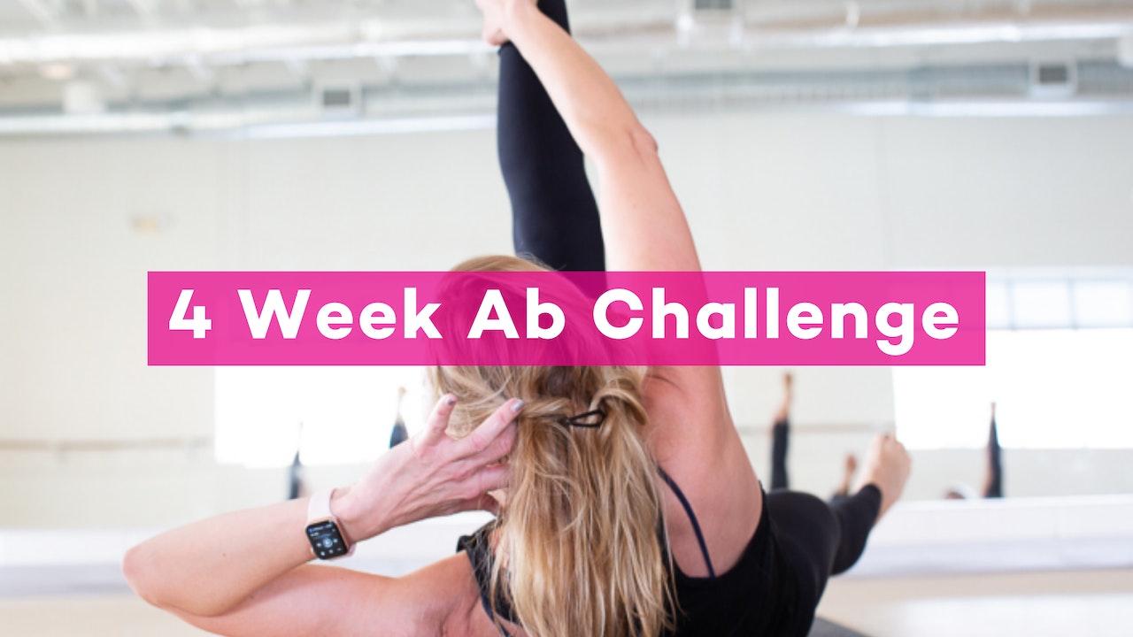 4-Week Ab Challenge