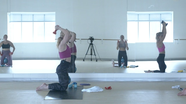 9/3 Pilates/Barre with Maddy