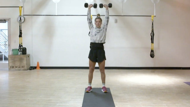 HIIT Strength with Kristin - Recorded LIVE on 9/17/20