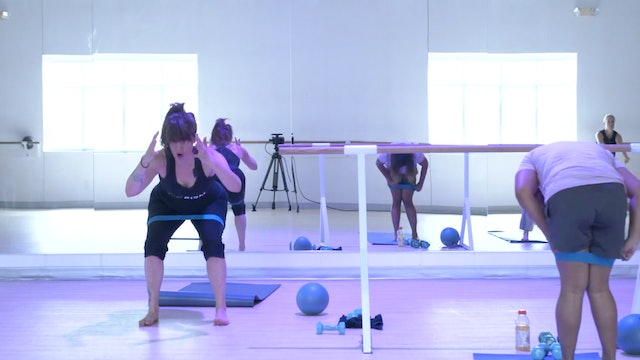 8/6 Pilates/Barre with Elinor