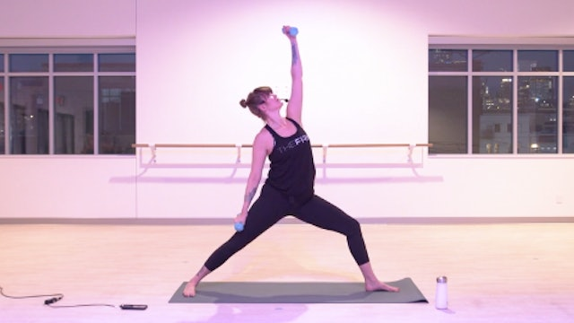 Wed 4/7 5:00 PM CST | Yoga Sculpt with Elinor