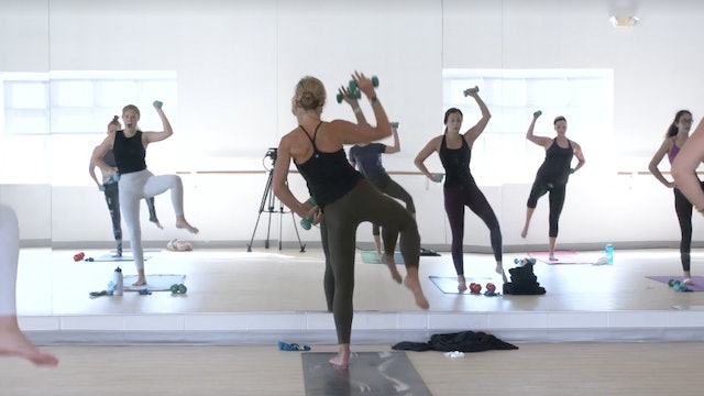 Barre 45 with Carrie - Recorded LIVE on 11/15/20