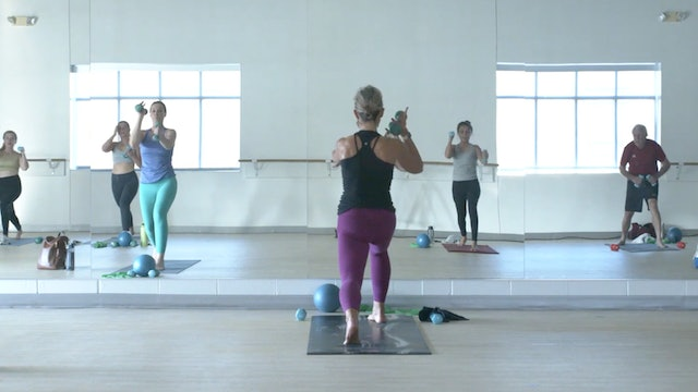 10/6 Yoga Sculpt with Carrie