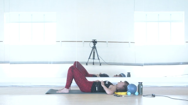 10/15 Pilates/Barre with Elinor