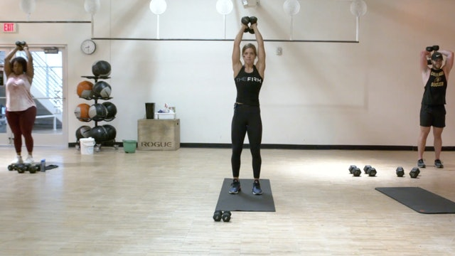 HIIT Strength with Kristin Egan - Recorded LIVE on 8/25/2020