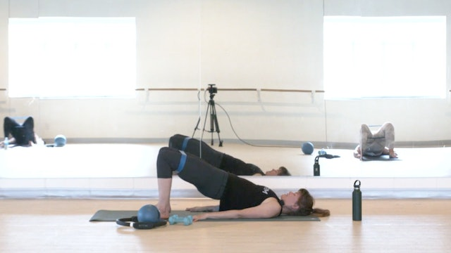 6/29 Pilates Barre with Elinor