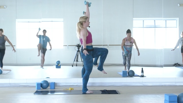 7/30 Pilates/Barre with Maddy
