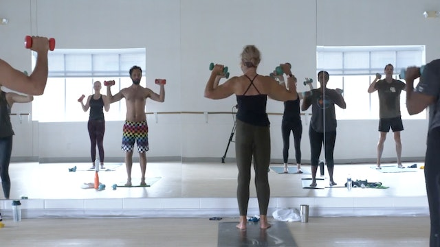 Barre with Carrie - Recorded LIVE on 8/9/2020
