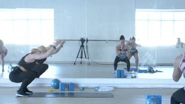 7/2 Pilates Barre with Maddy