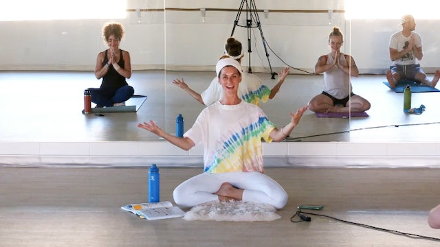 Withstand the Pressure of Time: Kundalini Yoga with Greta - Recorded on 8/20/20