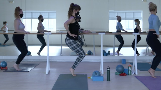 3/30 Pilates/Barre with Elinor
