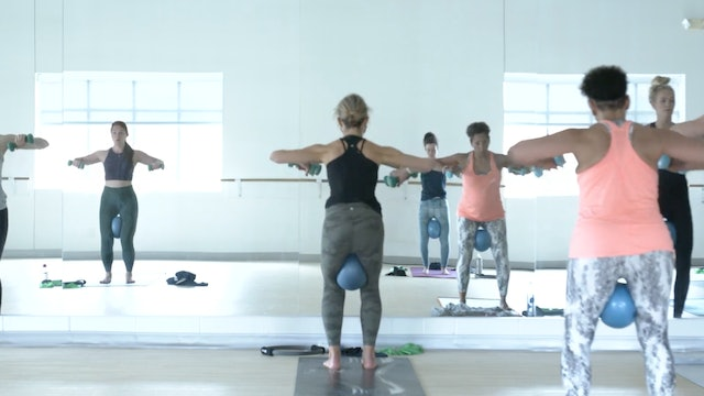 5/16 Barre 45 with Carrie