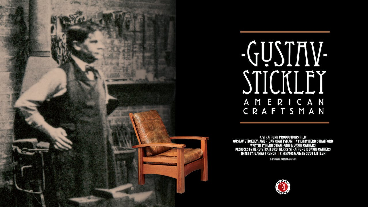 Gustav Stickley at the Gold Town Theater