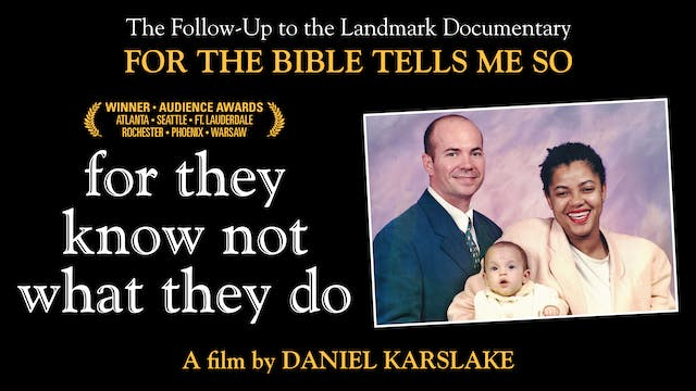 For They Know Not What... at Angelika Film Center