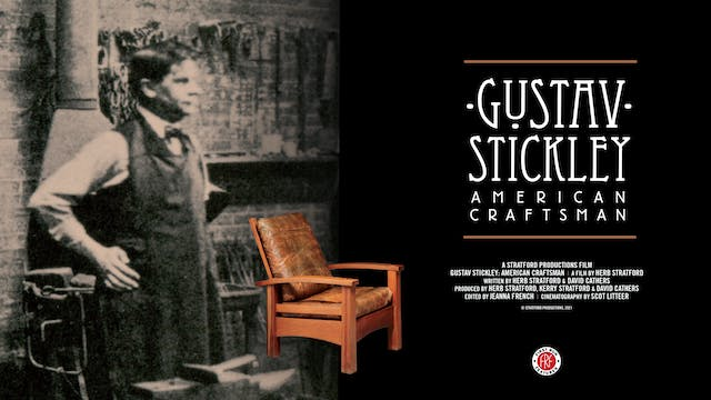 Gustav Stickley at the Sunrise Theater
