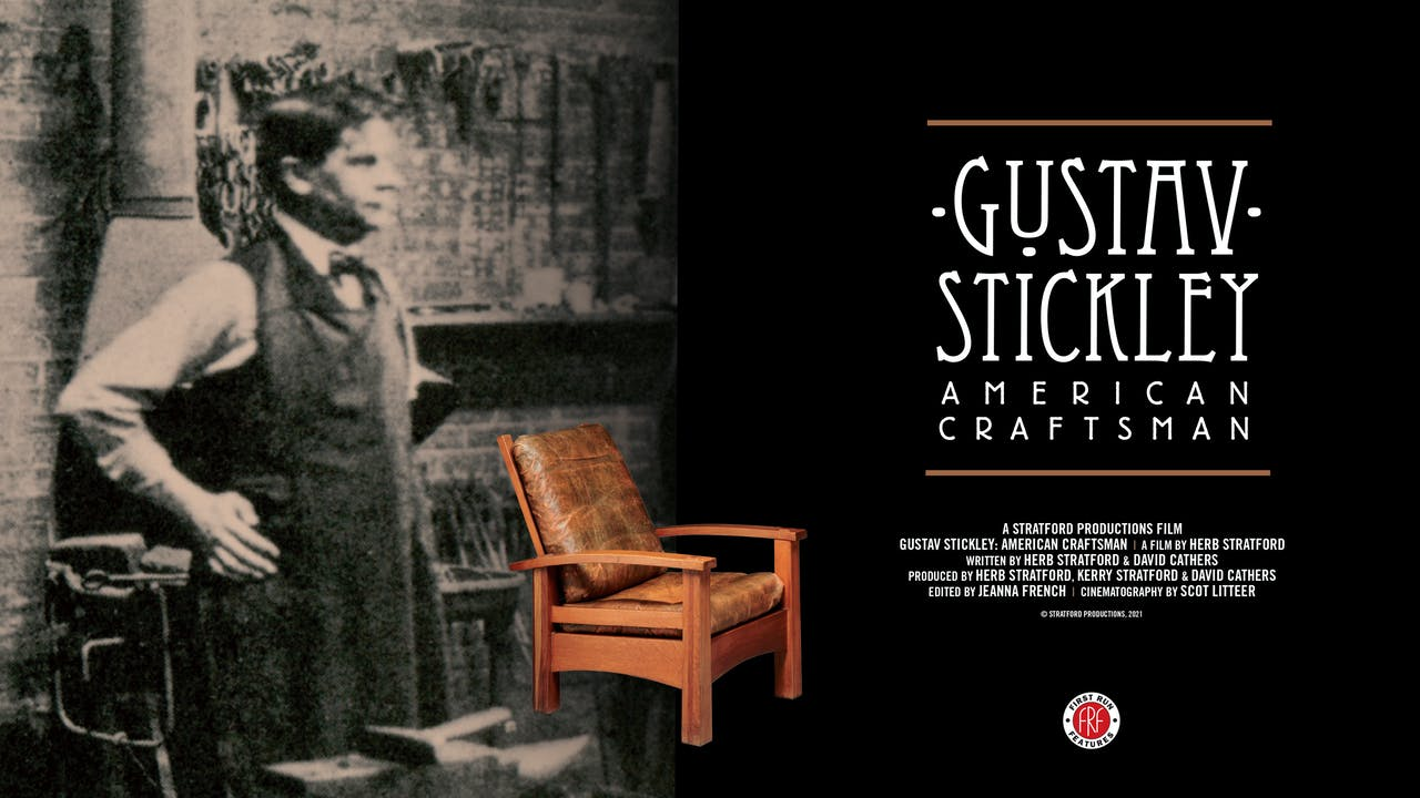 Gustav Stickley at the Vogue Theatre in Manistee