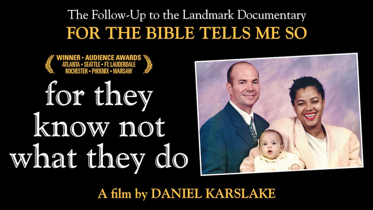 For They Know Not... at the Screening Room
