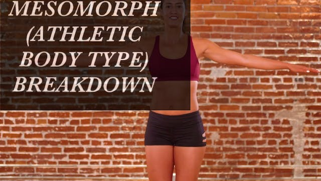 Mesomorph (Athletic Body Type) Breakdown