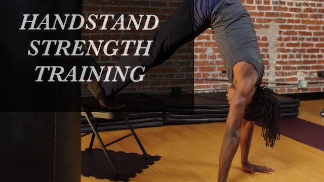 Handstand Strength Training