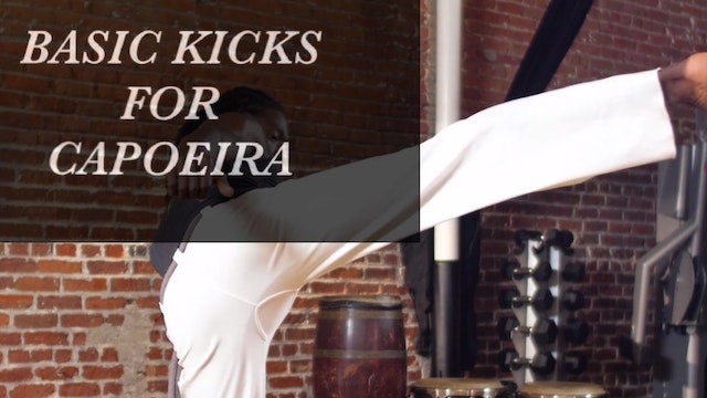Basic Kicks for Capoeira