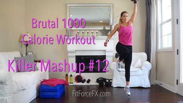 Brutal 1000 Calorie Workout: Killer M...