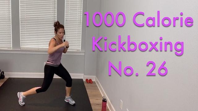 Cardio Kickboxing 1000 Calorie Killer Workout No.26