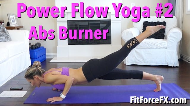 Abs Burner: Power Flow Yoga Series Wo...
