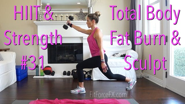 Total Body Fat Burn & Sculpt: HIIT & ...