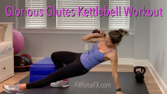 Glorious Glutes: Kettlebell Workout