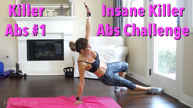 Insane Killer Abs Challenge: Killer Abs Series Workout No.1