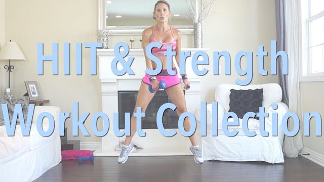 HIIT & Strength Series 15 Workout Bundle!