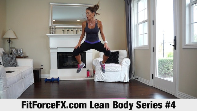 Lean Body Series: HIIT Workout No.4