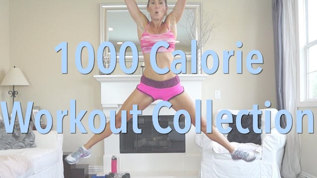1000 Calorie Workout Bundle - 3-Workout Pack No.1