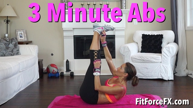 3 Minute Abs Workout