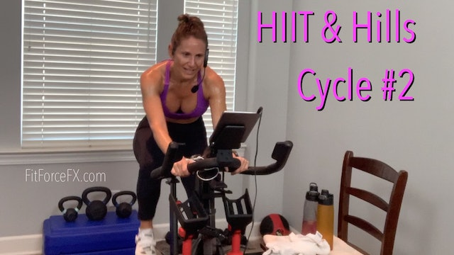 HIIT & Hills Ride No.2 (Bike/Elliptical/Treadmill)