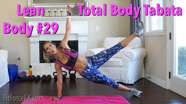Total Body Tabata: Lean Body Series W...